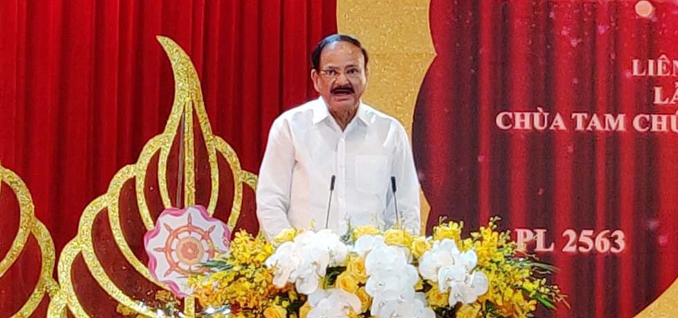 Vice President delivers Keynote Address at the 16th UN Day of Vesak celebrations in Vietnam