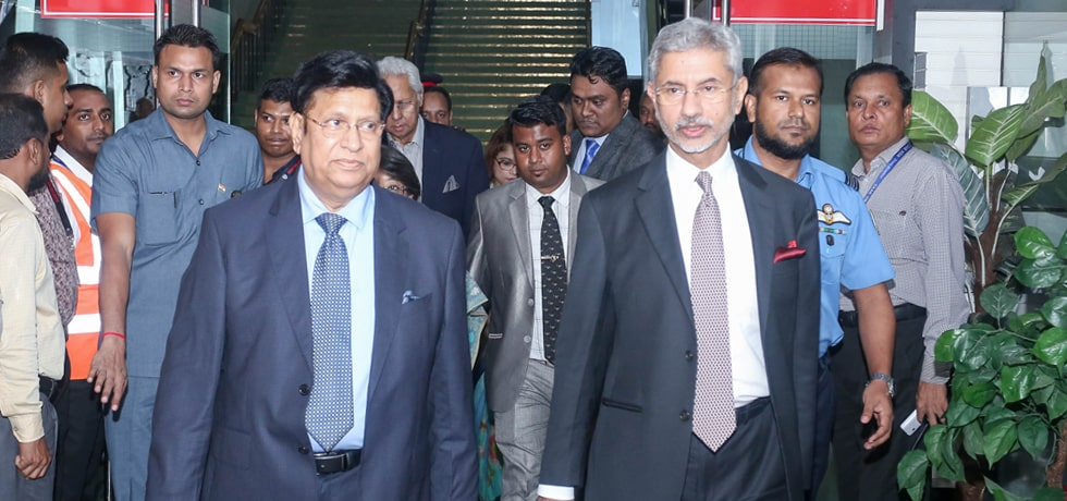 External Affairs Minister arrives in Dhaka for 3-Day visit to Bangladesh