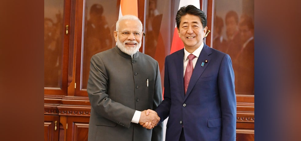Prime Minister meets Shinzo Abe, Prime Minister of Japan in Vladivostok