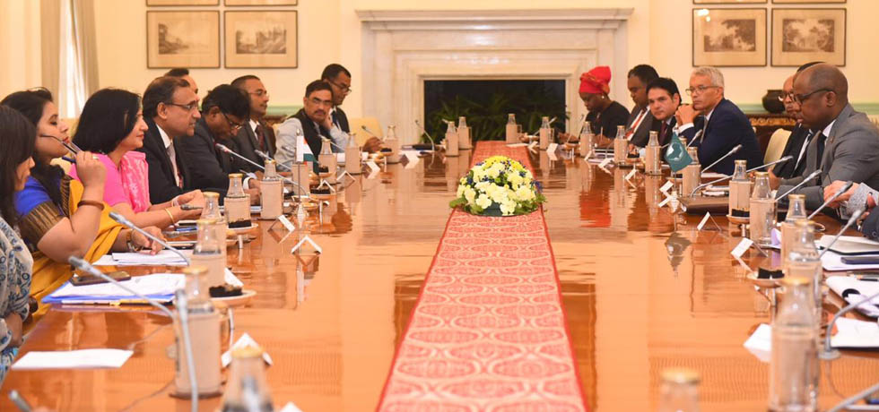 Mid-term Review Meeting of the Strategic Cooperation Framework of Africa-India Forum Summit III took place in New Delhi, India, from 11 – 12 September, 2019