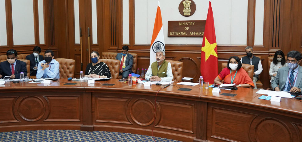 External Affairs Minister at the India-Vietnam Joint Commission Meeting