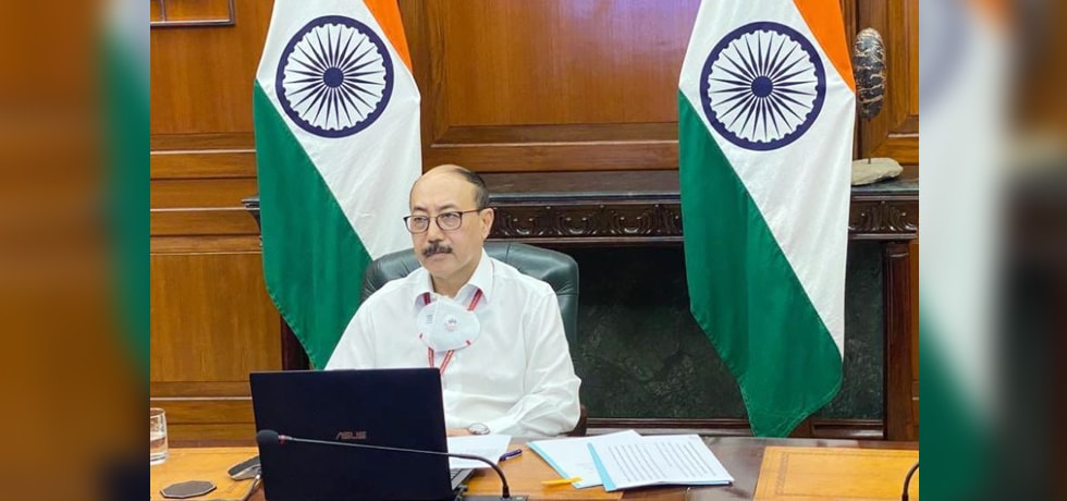 Foreign Secretary virtually delivers a lecture on India's Diplomacy during the Pandemic at a session organised by ICWA, New Delhi