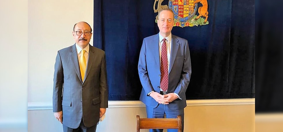 Foreign Secretary calls on David Quarrey, Acting NSA of United Kingdom, in London