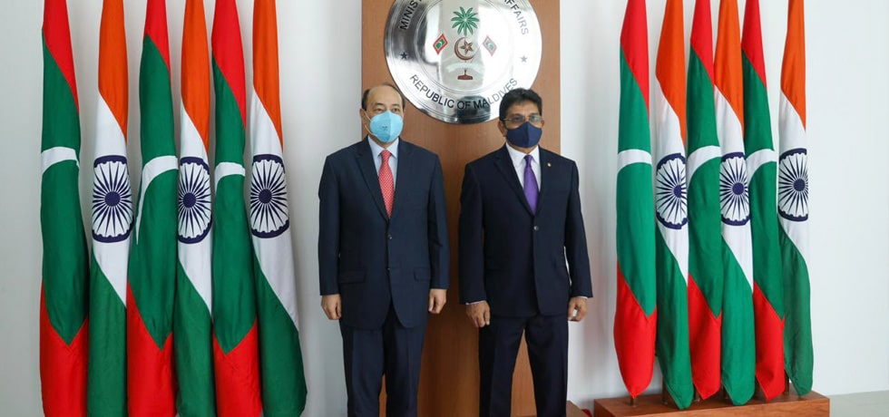 Foreign Secretary meets Abdul Ghafoor, Foreign Secretary of Maldives in Malé