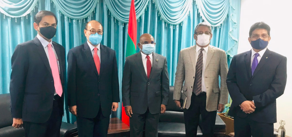 Foreign Secretary calls on Abdulla Shahid, Foreign Minister of Maldives in Malé