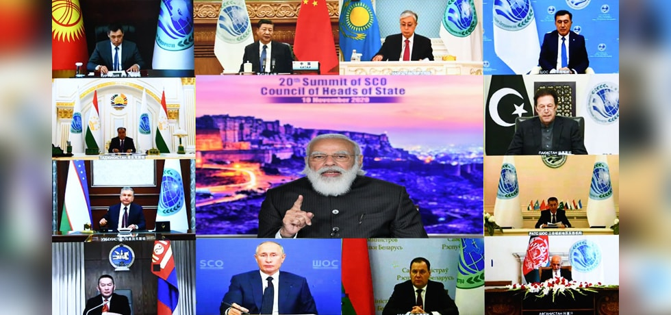 Prime Minister at the Shanghai Cooperation Organisation (SCO) Summit 2020