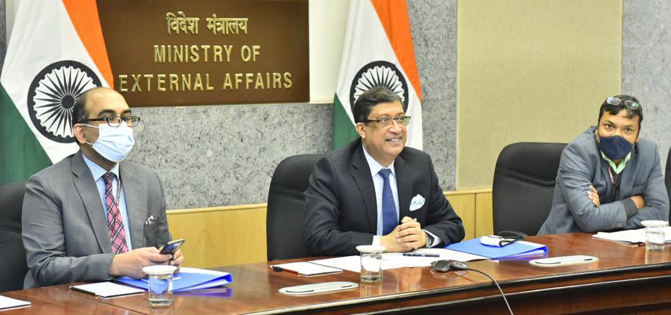 Secretary (CPV and OIA) co-chairs the third Senior Officials Meeting of Arab-India Cooperation Forum