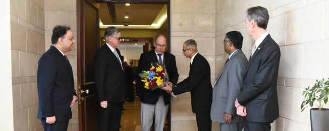 Official Visit of His Serene Highness Prince Albert II of Monaco to India (February 04-05, 2019)