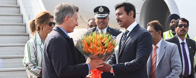 State visit of President of Argentina to India (February 17-19, 2019)