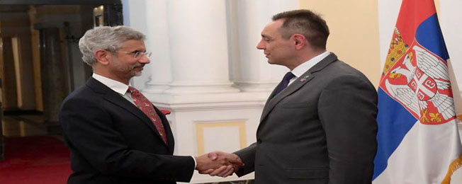 Visit of External Affairs Minister to Serbia (7-9 November, 2019)