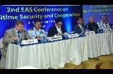 EAS delegates speaking at the 2nd EAS Conference on Maritime Security and Cooperation in Goa, 4 November 2016