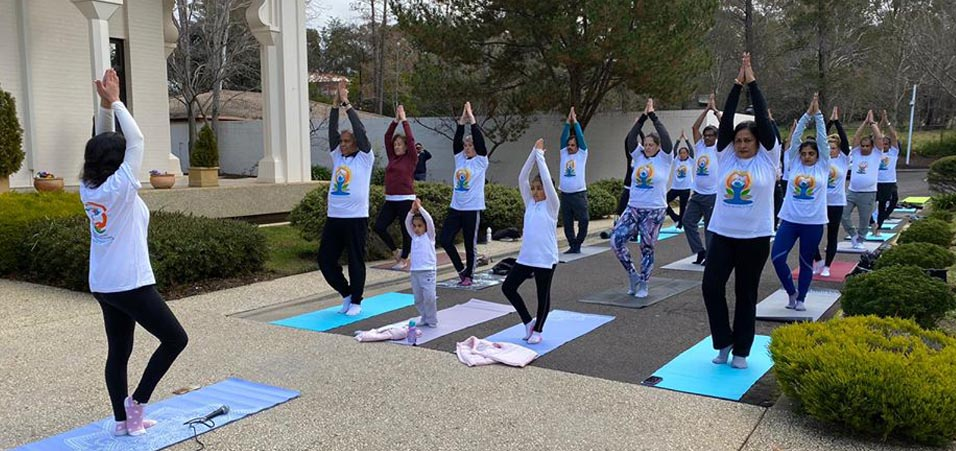 International Yoga Day 2020 celebrations by High Commission of India, Canberra